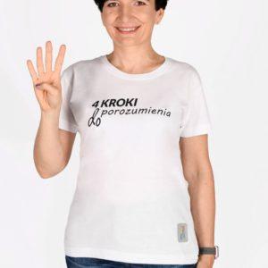 Koszulka damska 4 KROKI DO POROZUMIENIA