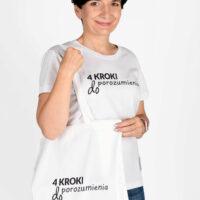Koszulka damska i torba płócienna Zestaw 4 KROKI DO POROZUMIENIA