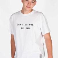 Koszulka męska DON`T BE NICE. BE REAL.