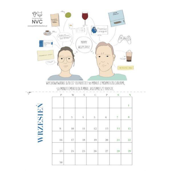 Kalendarz z cytatami Marshalla Rosenberga